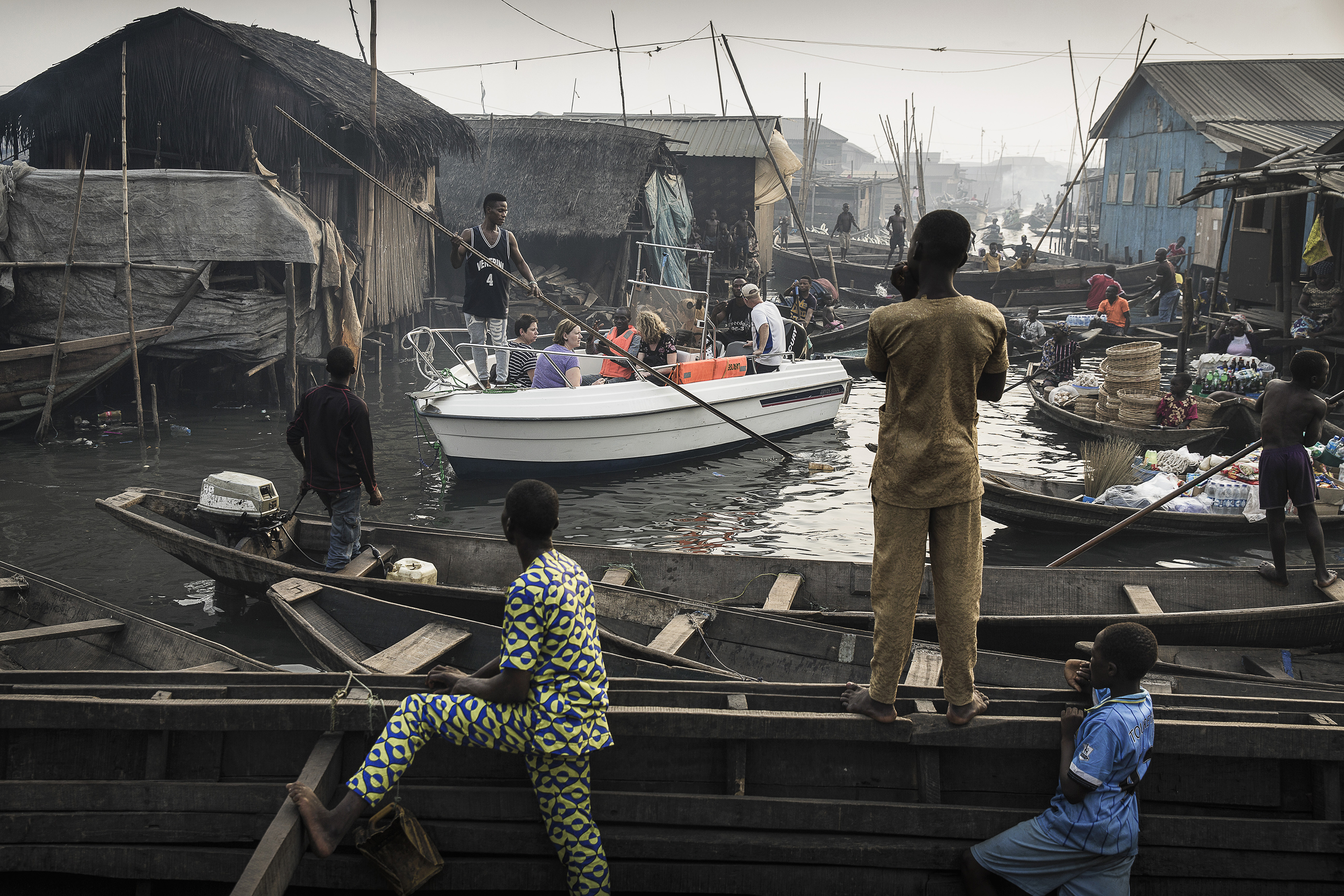 Lagos Waterfronts under Threat © Jesco Denzel, laif