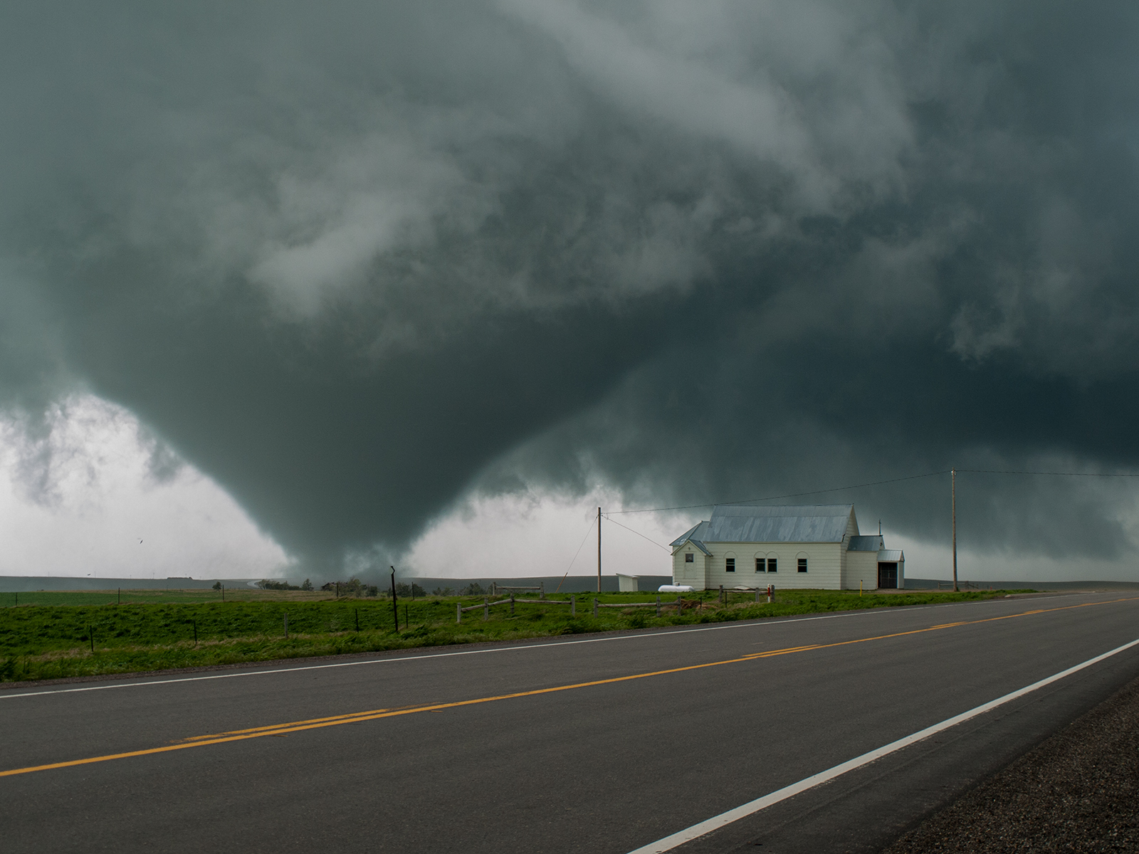 A tornado in South Dakota, by George Kourounis