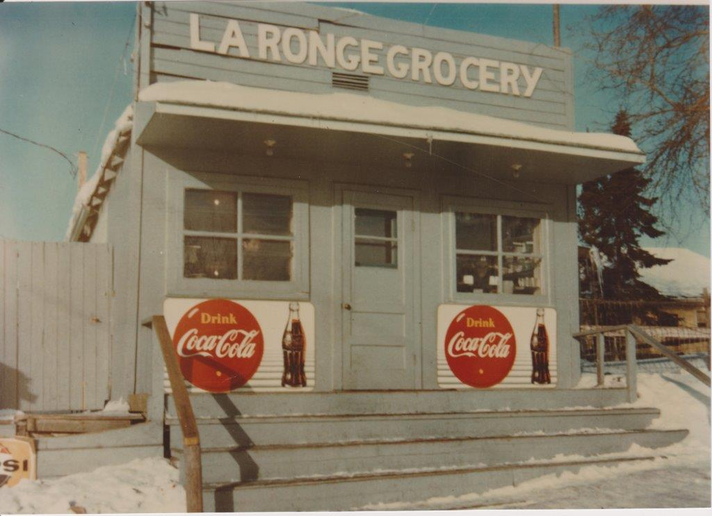 The original La Ronge grocery store, purchased by Alex Robertson in 1967