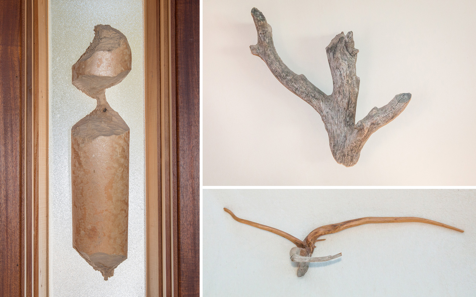 Beaver sculptures