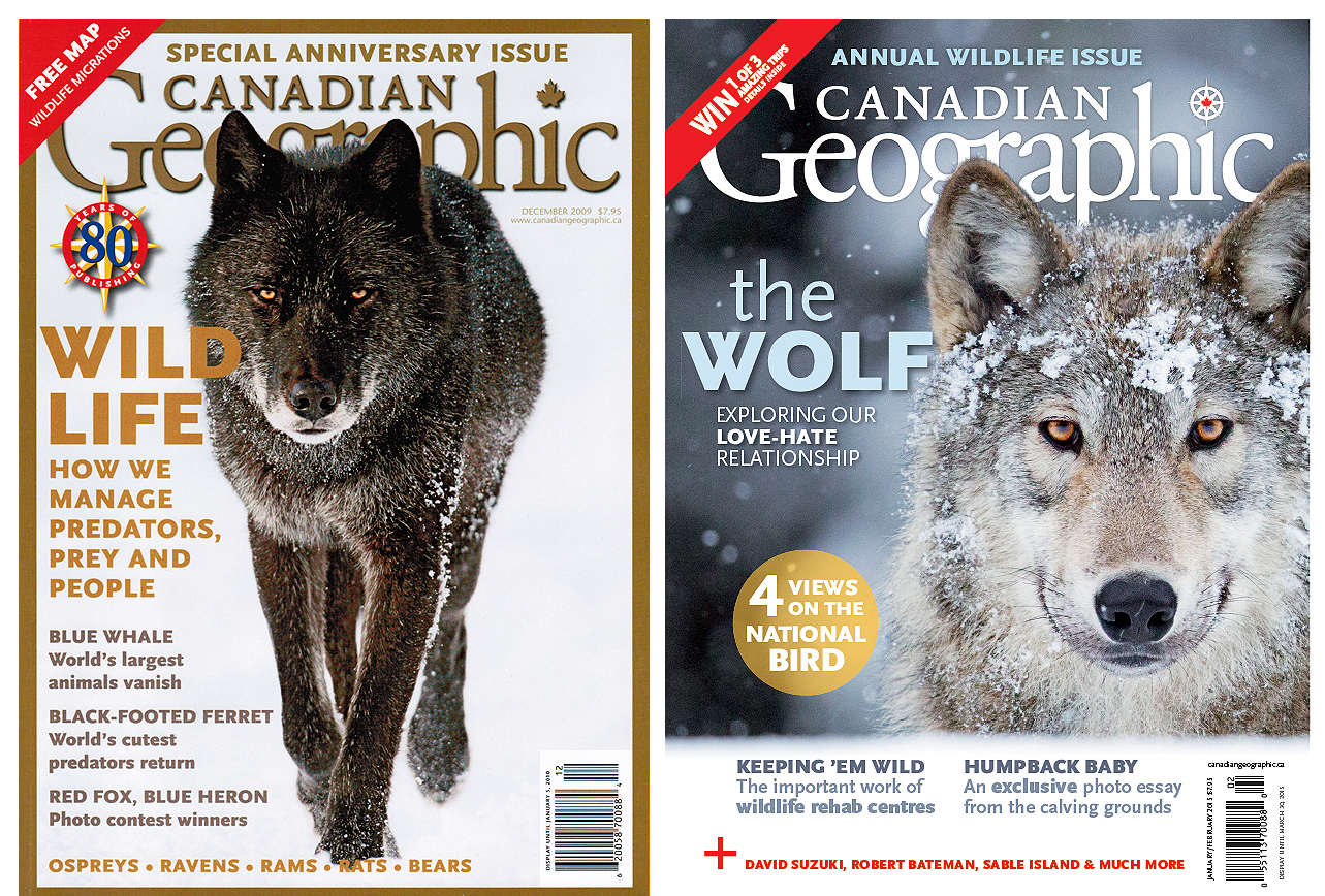 John E. Marriott cover photos Canadian Geographic