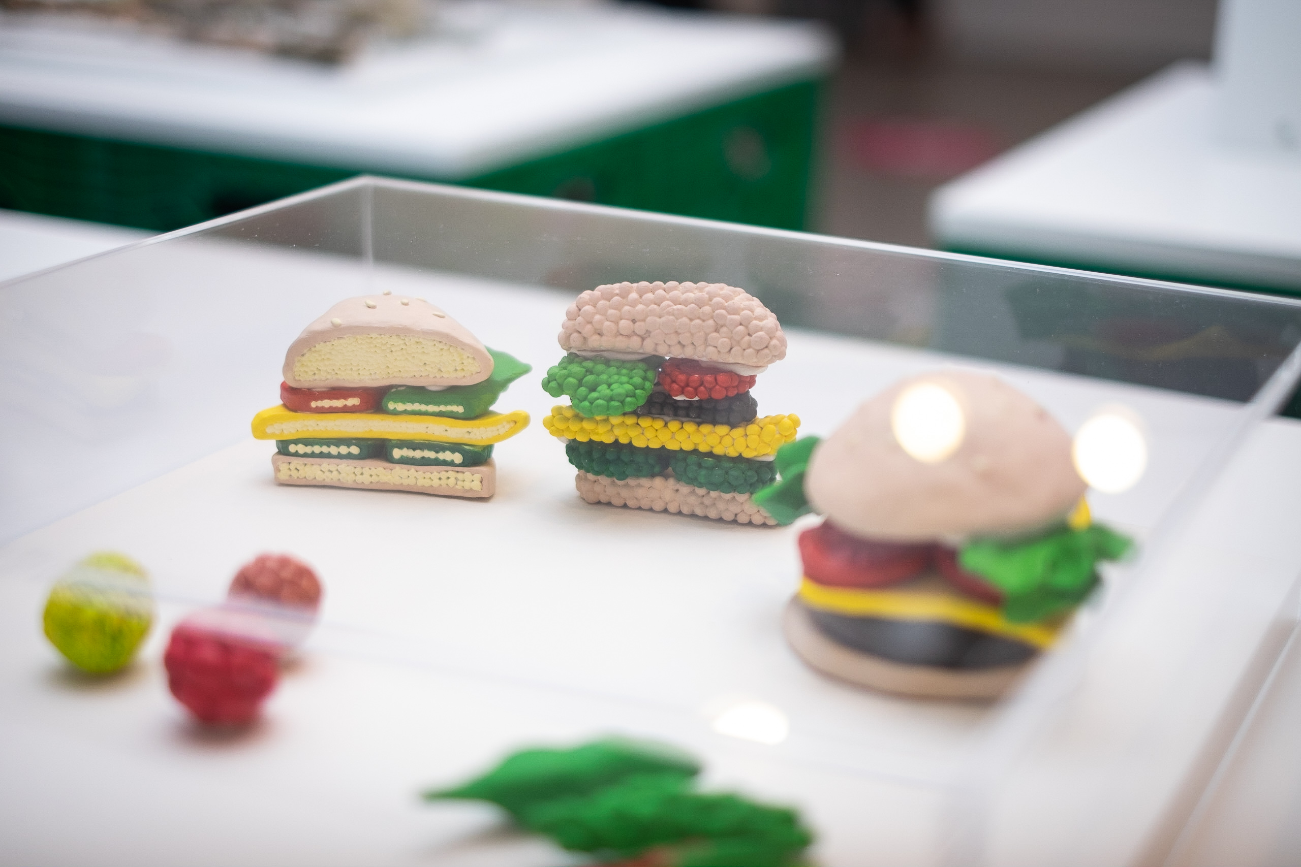 Digestive Food is a submission featuring the artists idea of a perfectly digestible food, leaving no wasted nutrients.