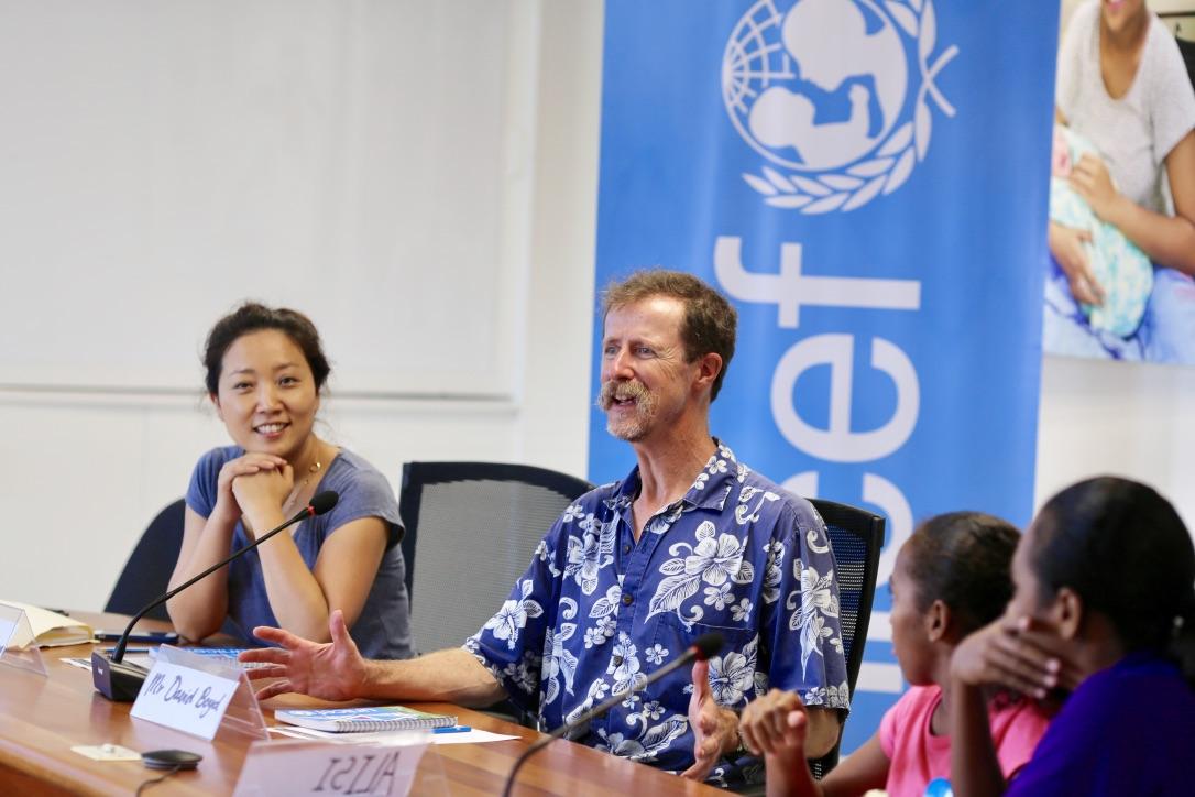 UN Environment mission to Fiji David Boyd