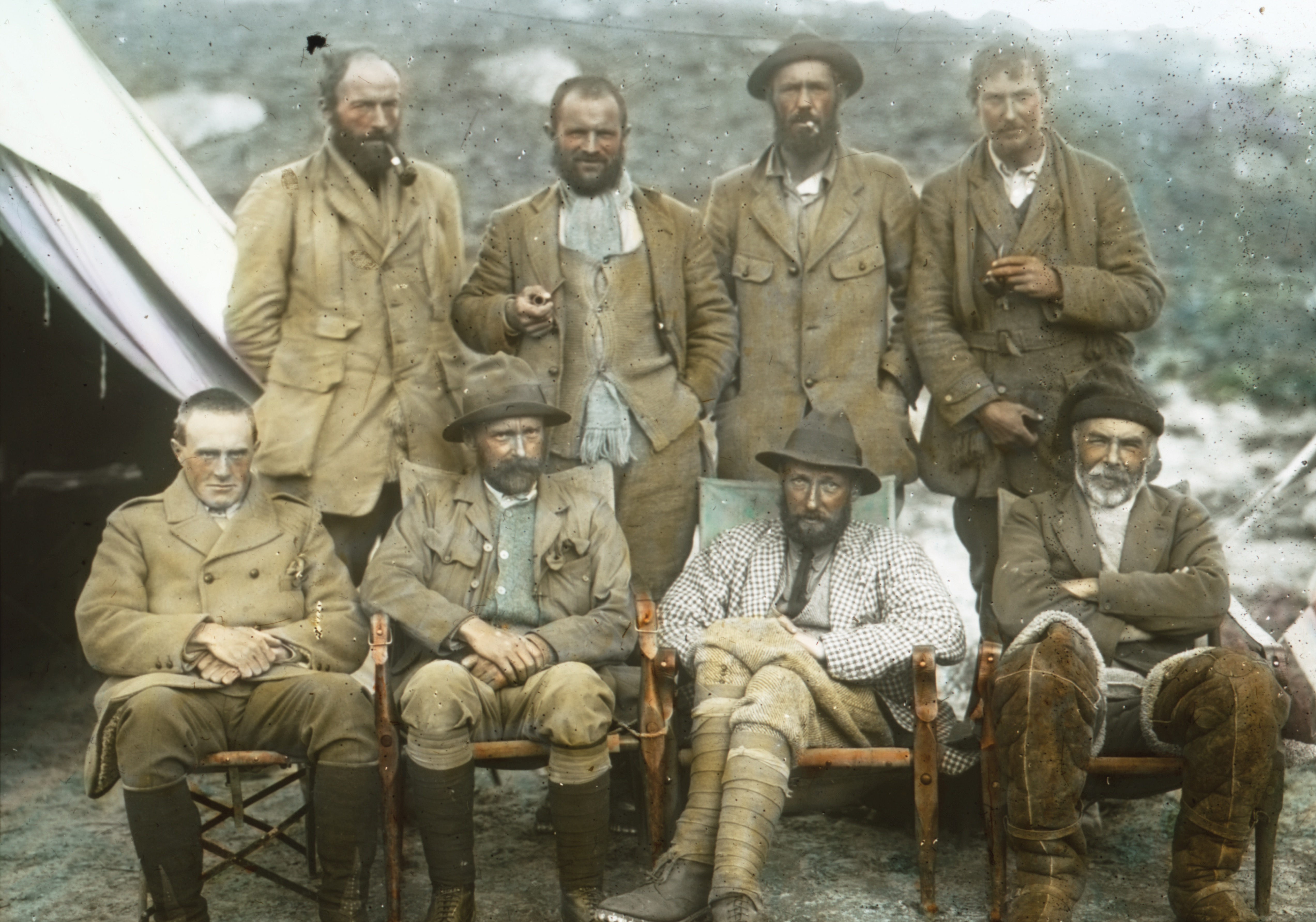 1921 Everest expedition team