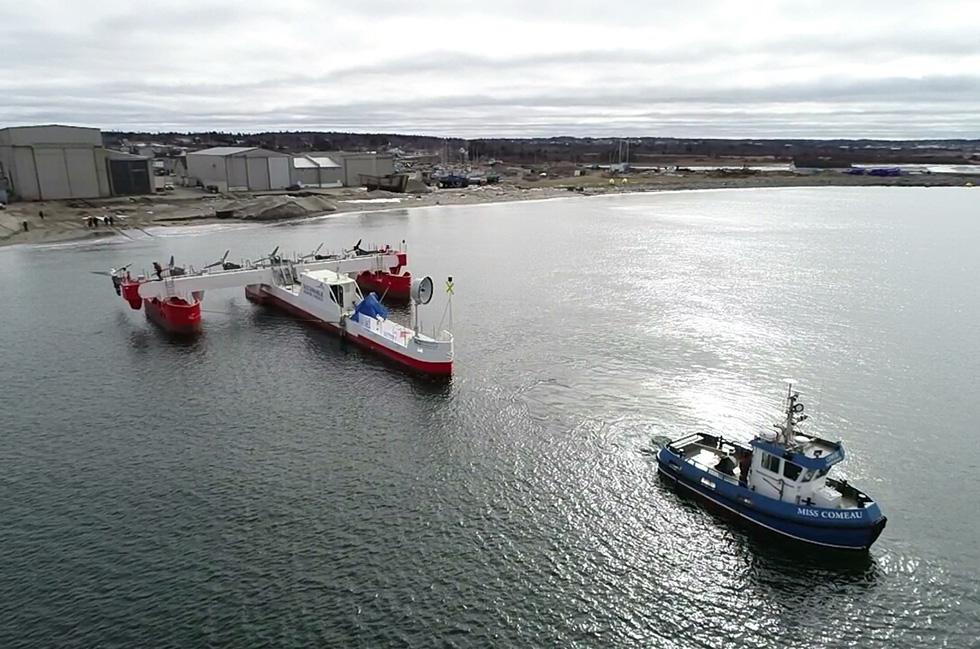 Sustainable Marine Energy's first floating tidal energy platform