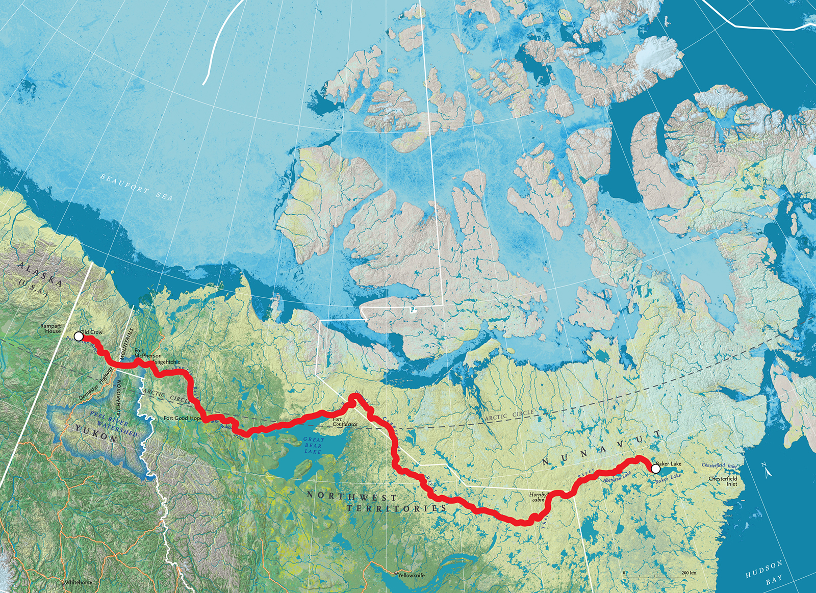 Exclusive: Adam Shoalts on his epic Trans-Canadian Arctic Expedition