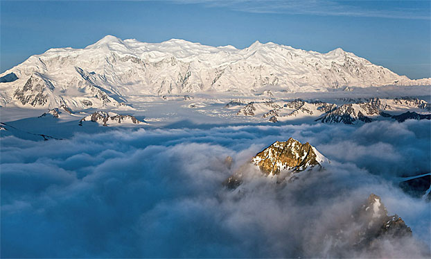 Mount Logan From Above Canadian Geographic