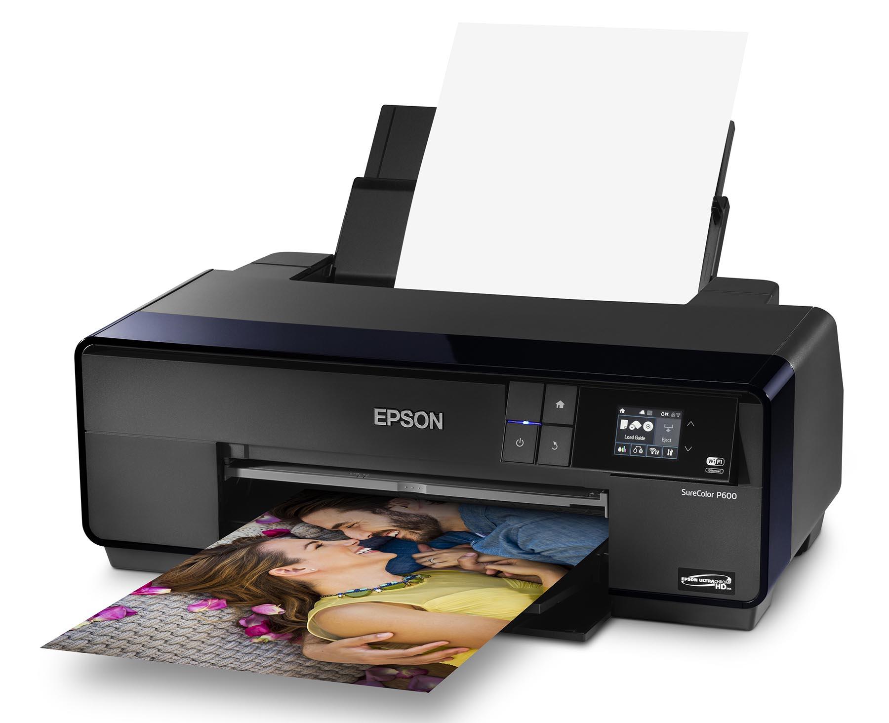 gear review epson surecolor p600 wide format inkjet. Black Bedroom Furniture Sets. Home Design Ideas