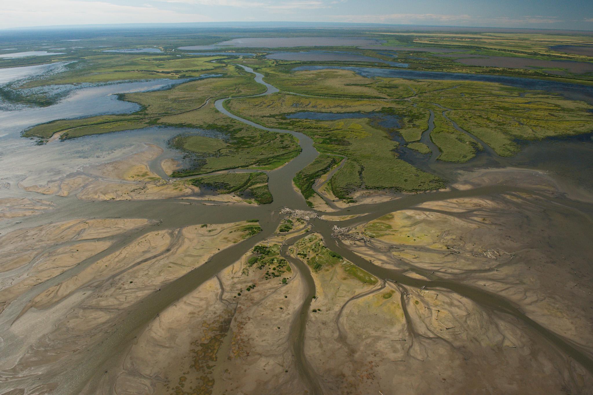 Wood Buffalo National Park >> Aerial photos of Wood Buffalo National Park | Canadian Geographic