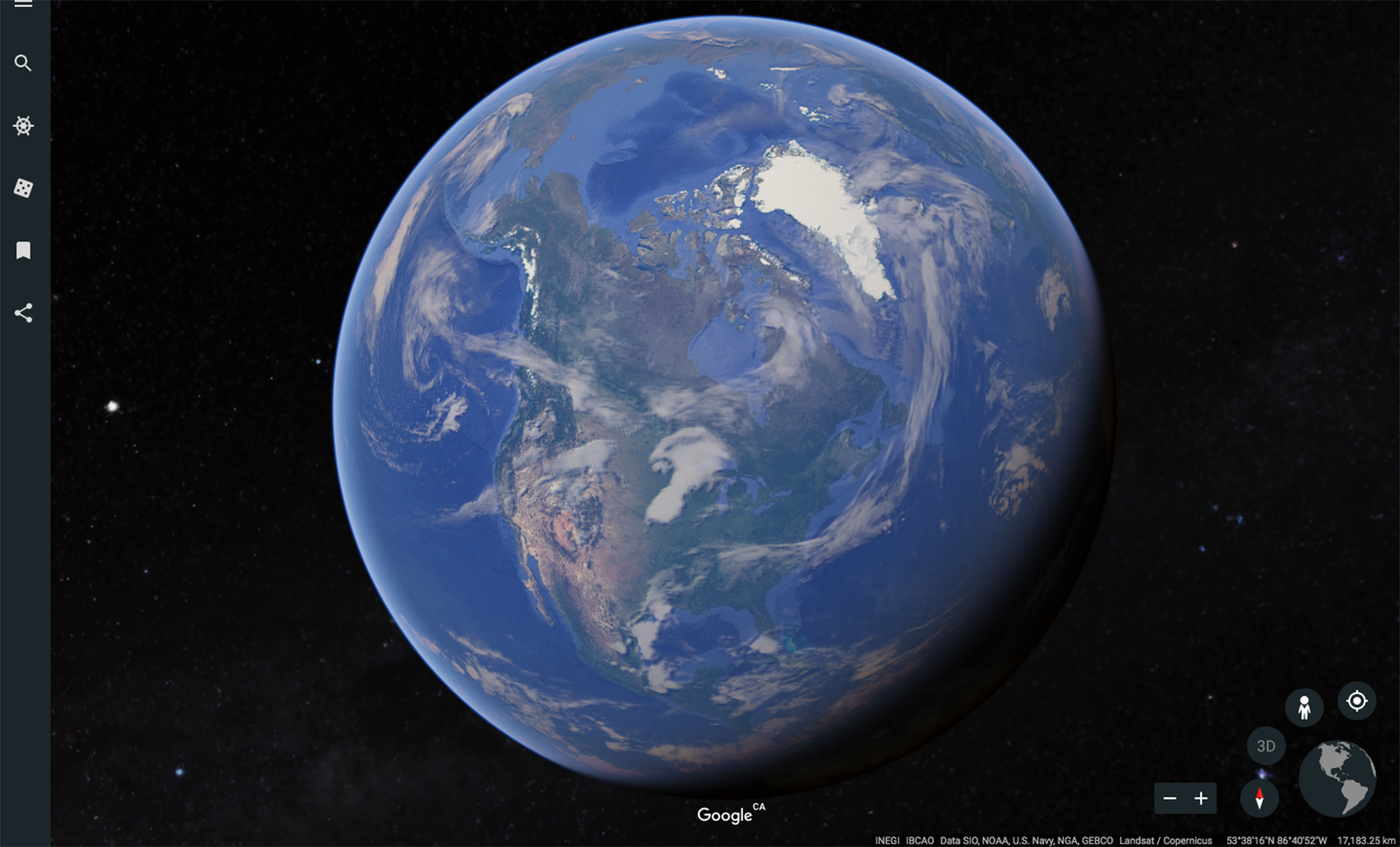 Google Launches New And Improved Google Earth With More Ways To Explore The World Canadian Geographic