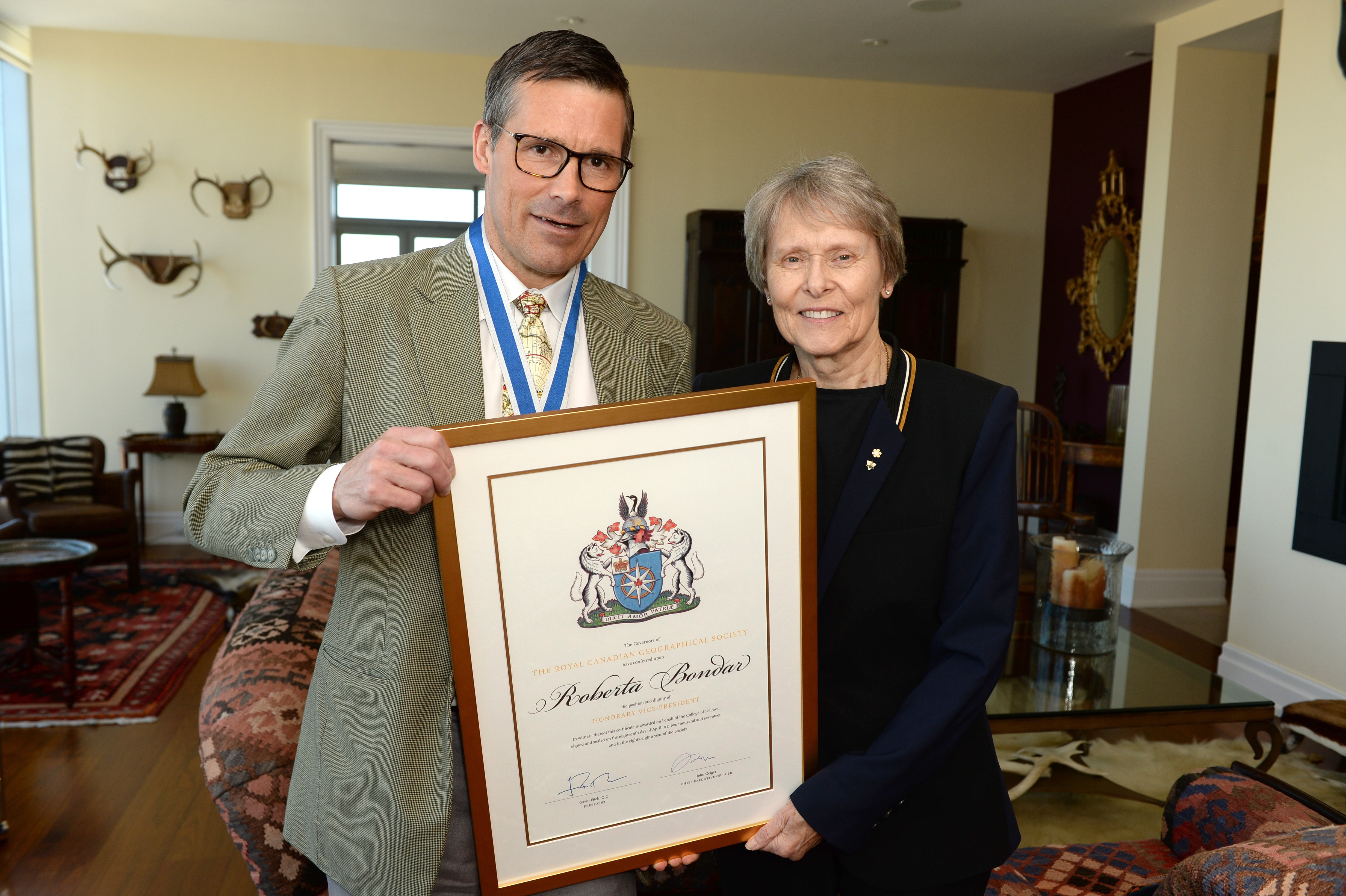 Roberta Bondar On Her New Role As Honorary Vice President
