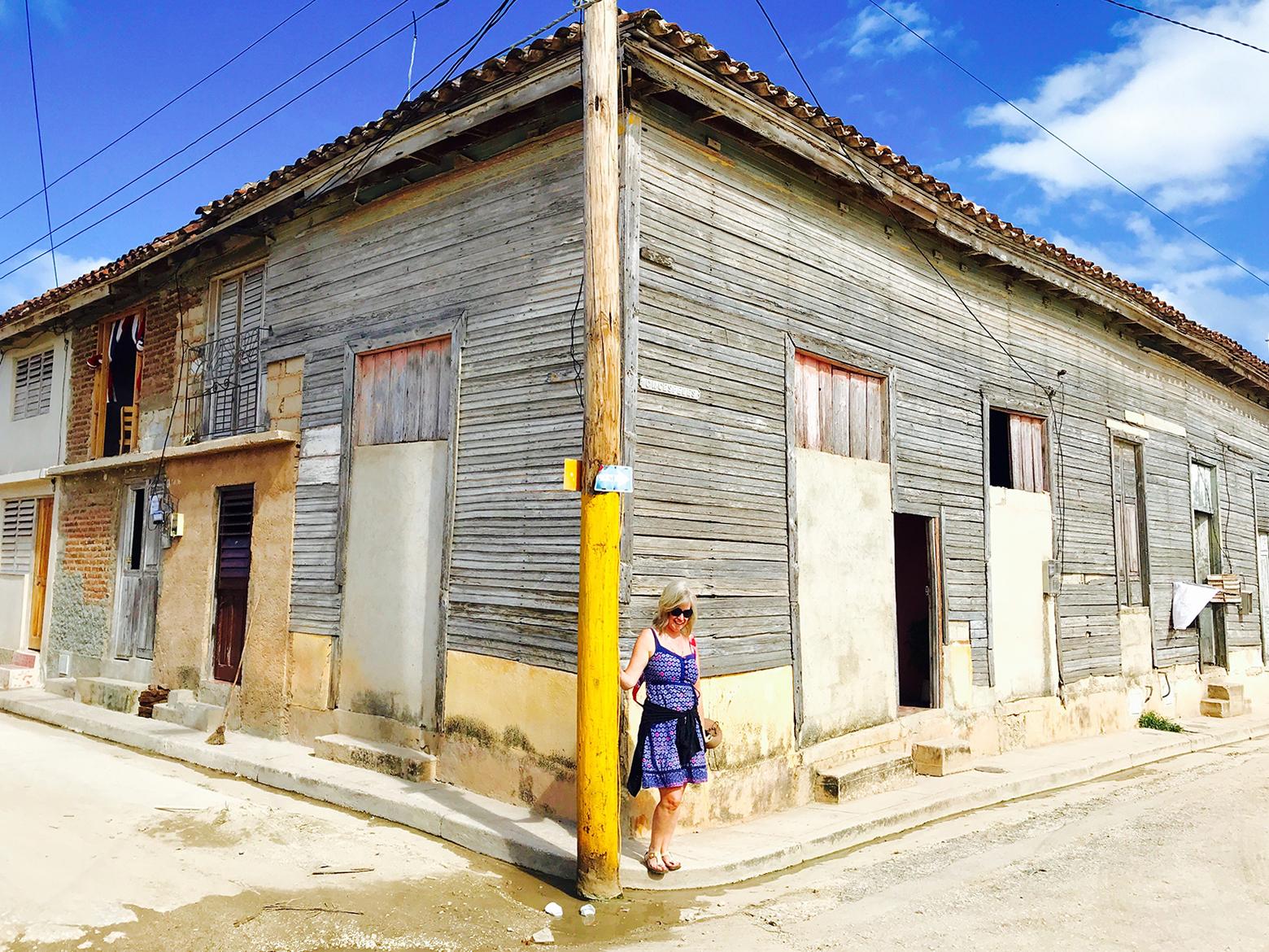 Bonnie Munday in Gibara, Cuba
