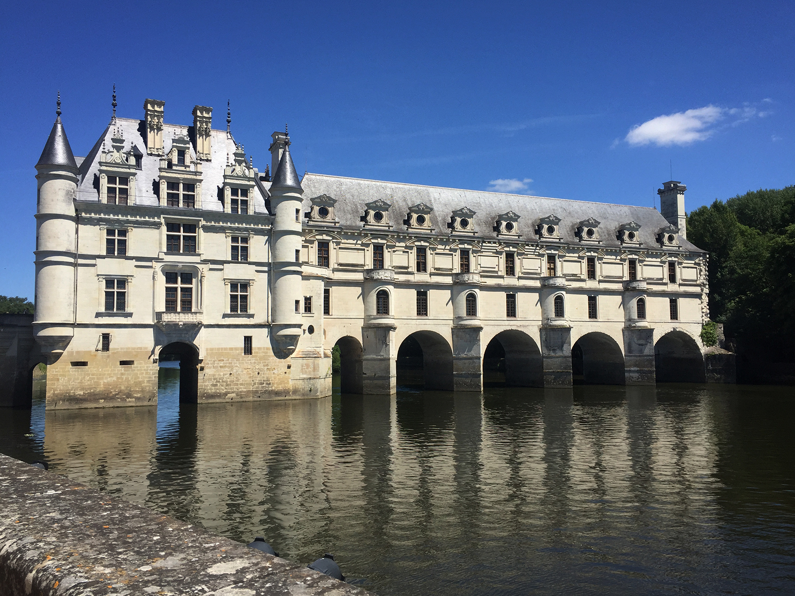 chateau de chenonceau, loire valley france
