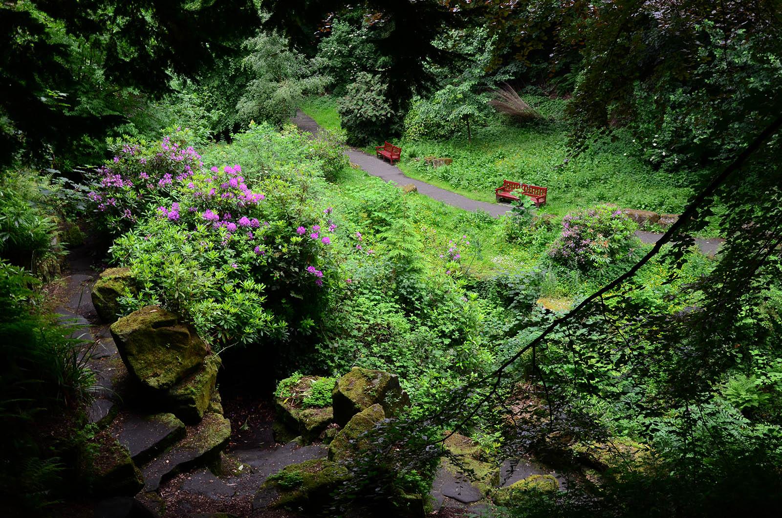 Pittencrieff Park, Dunfermline, Scotland