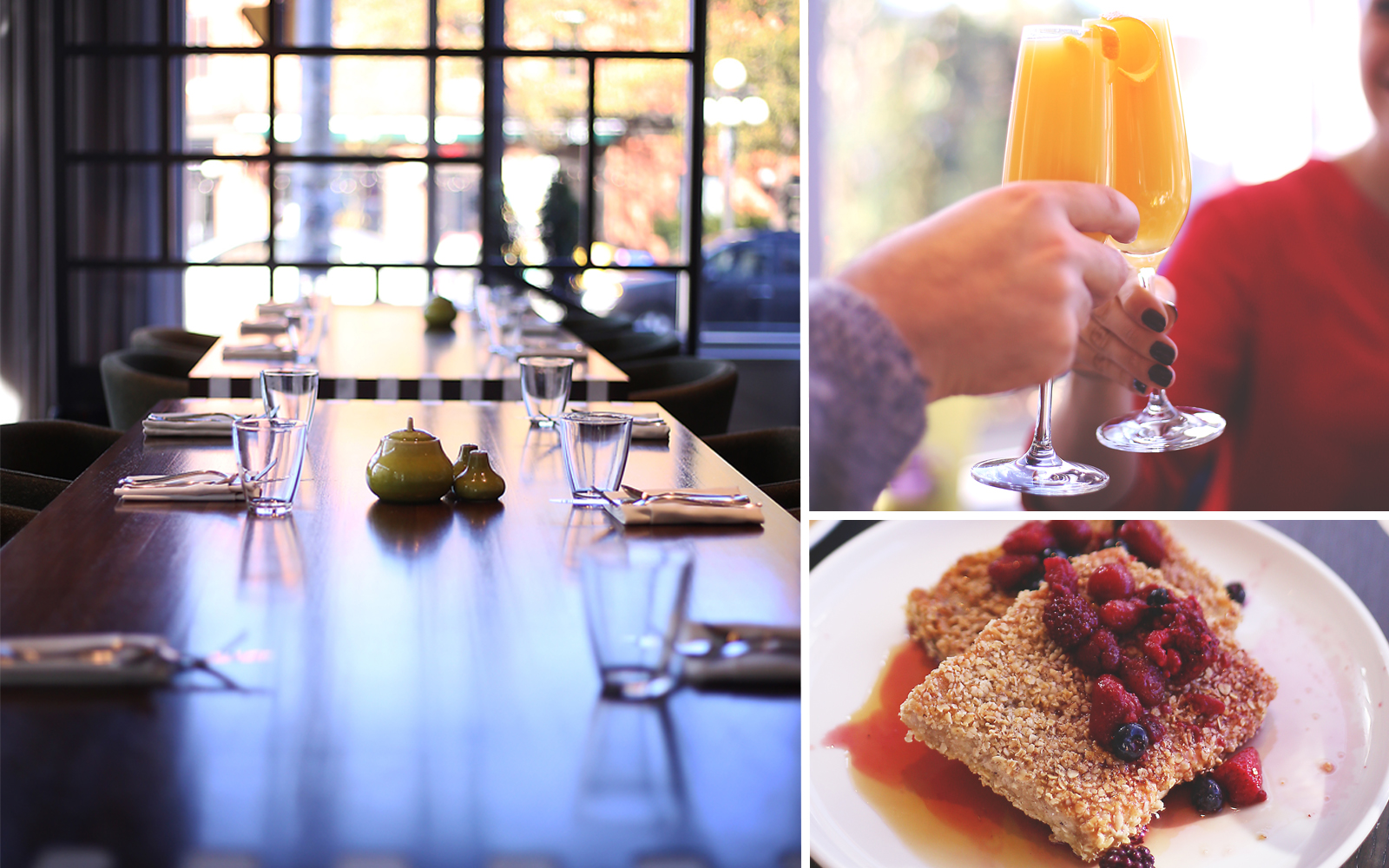 Brunch at Feast and Revel in the Andaz Ottawa ByWard Market hotel