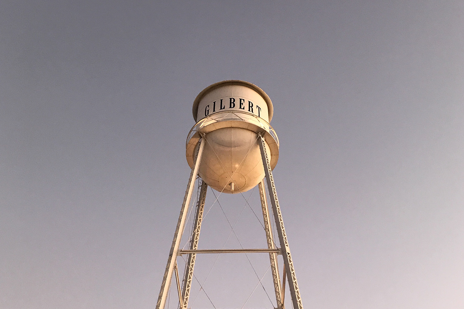 Gilbert arizona water tower
