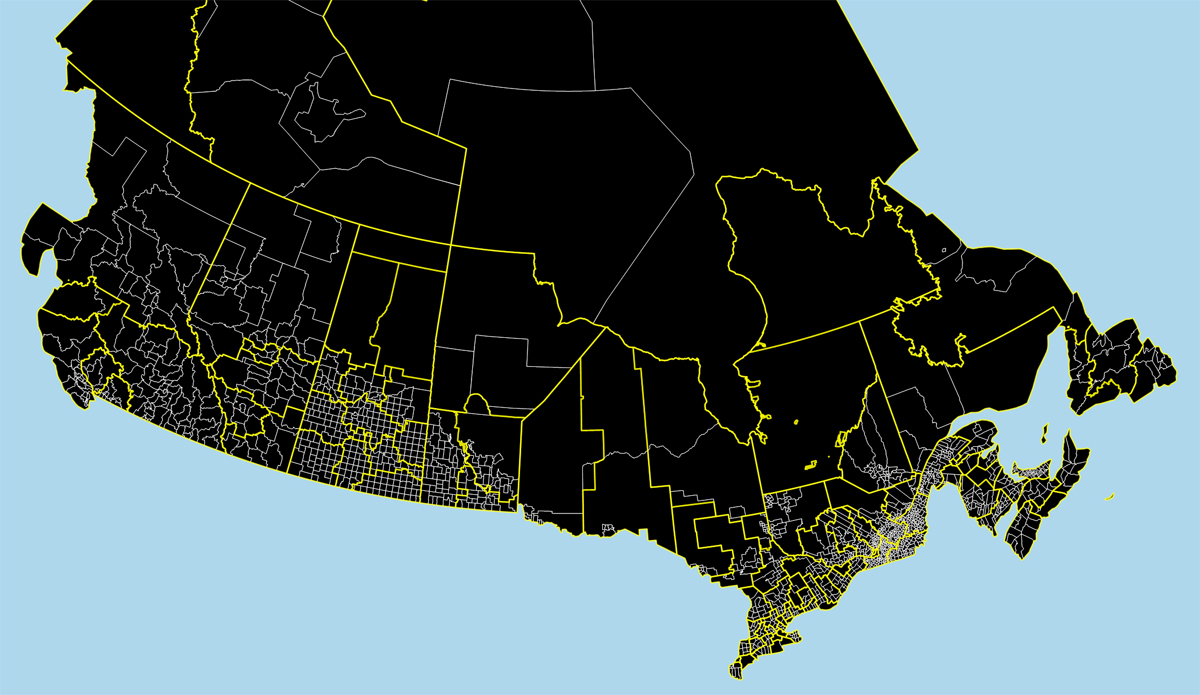 Mapping Covid 19 Cases In Canada Per Capita Canadian Geographic
