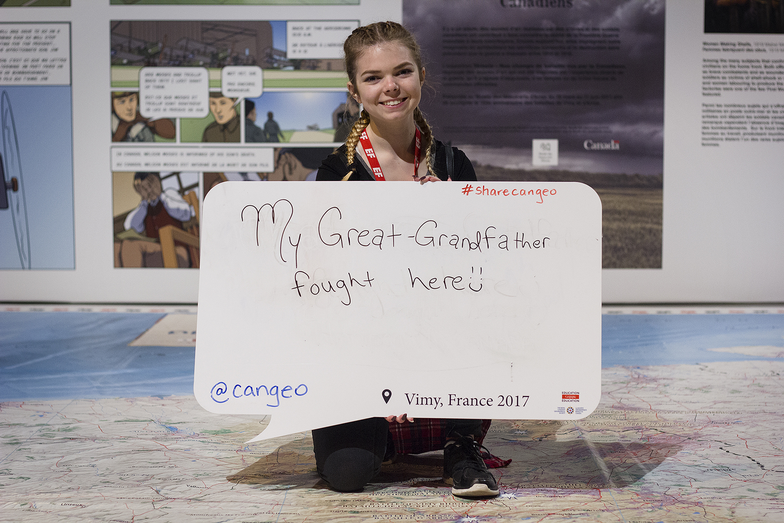 A student shares her perspective on Vimy Ridge