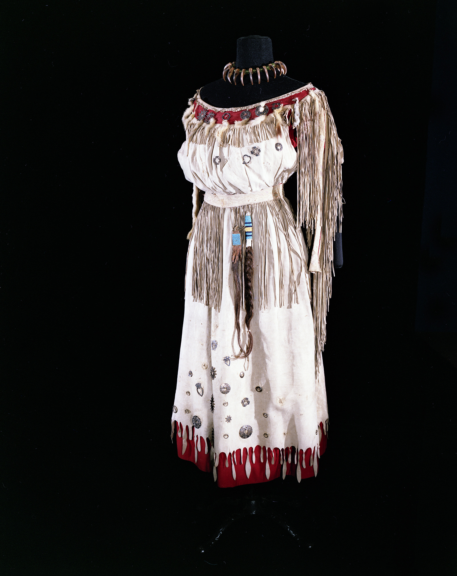 Pauline Johnson's performance dress