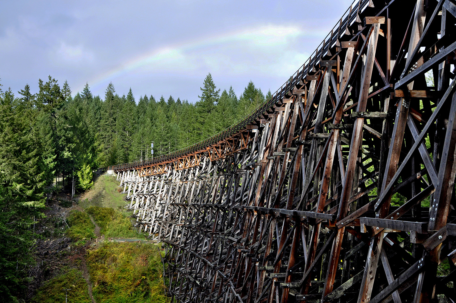 Kinsol Trestle cowichan valley Vancouver Island
