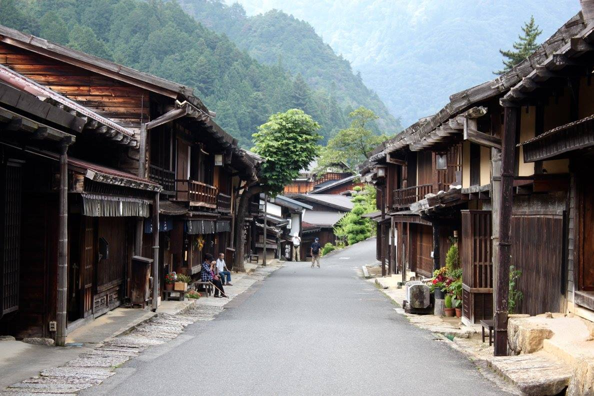 The Edo period streets of Magome