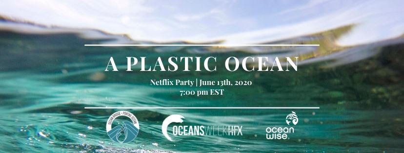 Netflix party plastic ocean