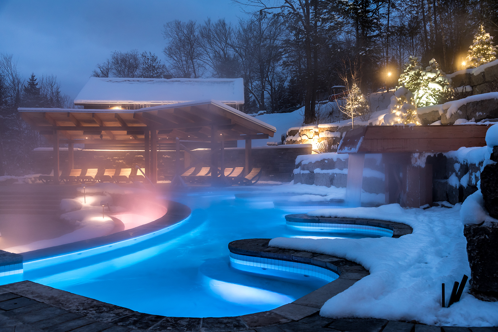 A look at Scandinave Spa Mont-Tremblant's new expansion