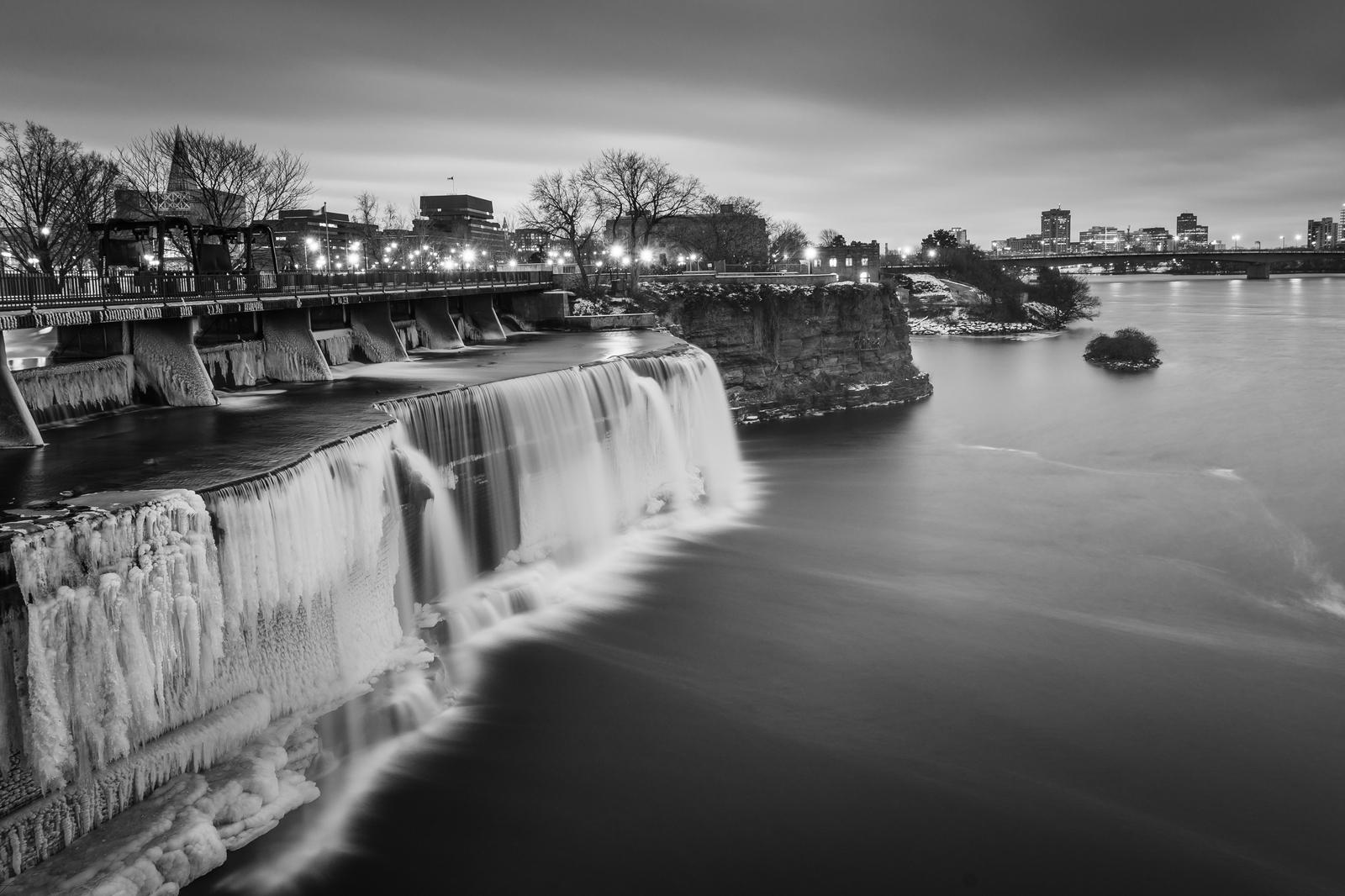 The Rideau Falls