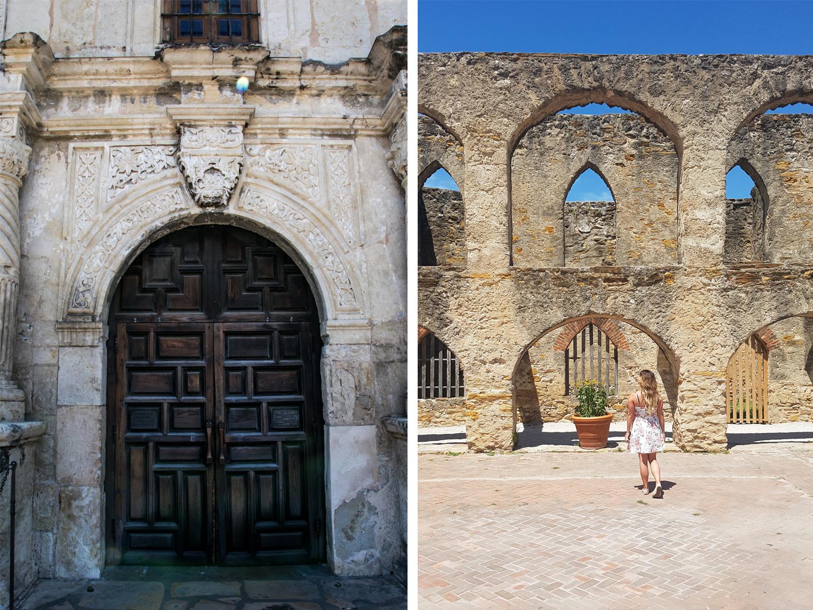 San Antonio Alamo Mission San Jose Mission