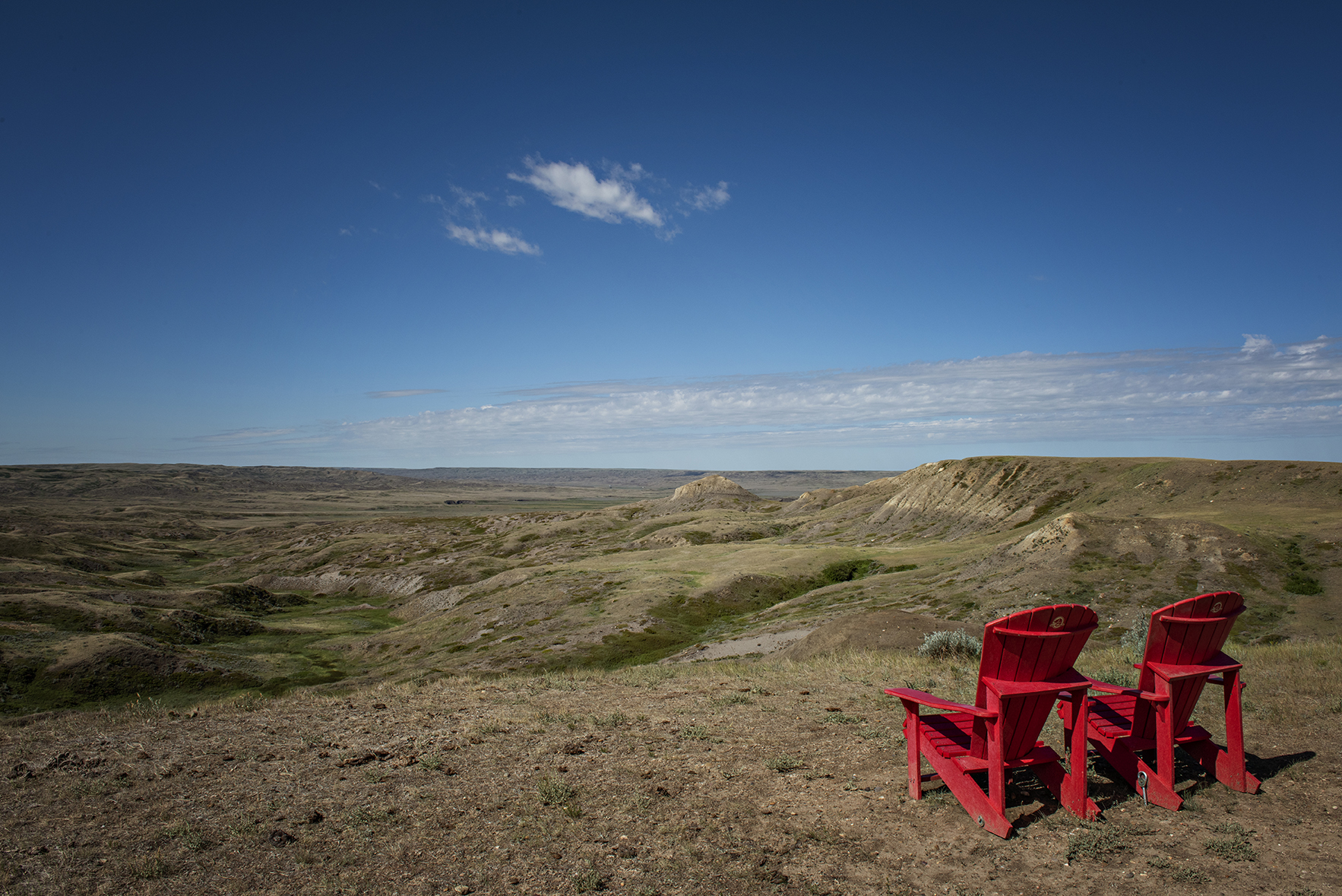 Red Chairs Grasslands National Park