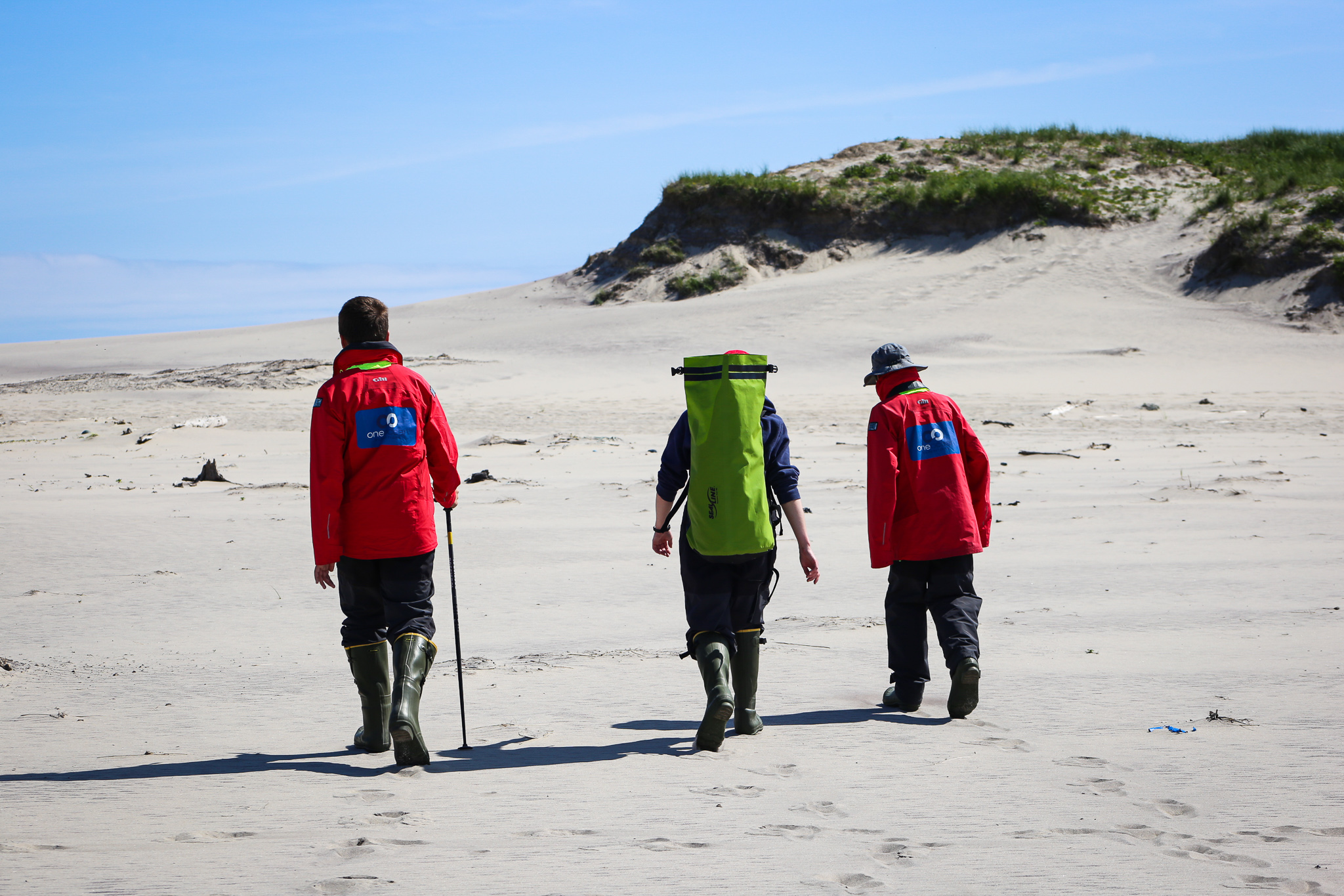 Hiking on Sable Island