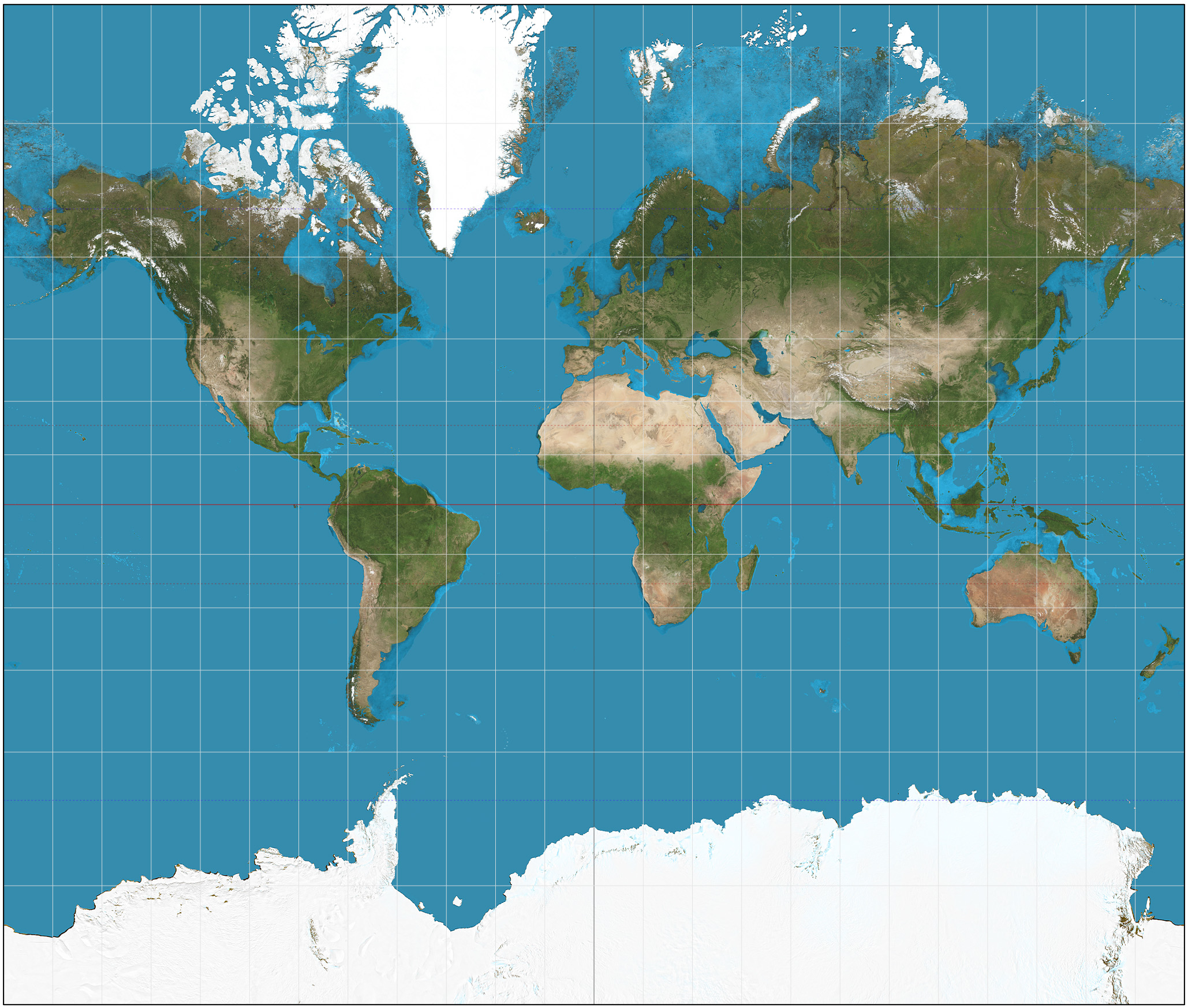The Mercator Projection by Daniel R Strebe