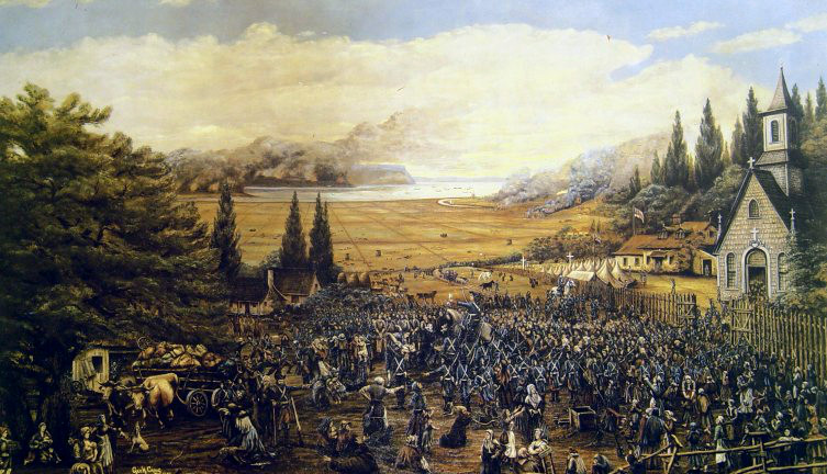 Deportation of the Acadians at Grand-Pré