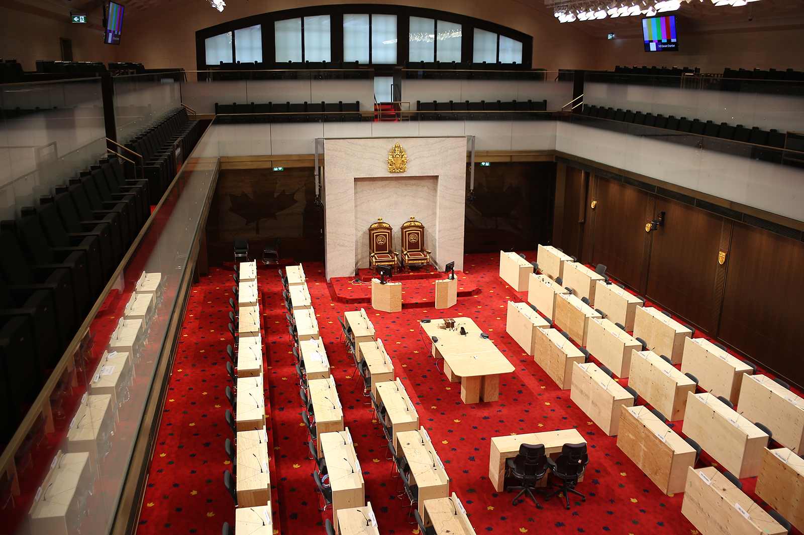 Red Chamber, Senate of Canada building, Ottawa