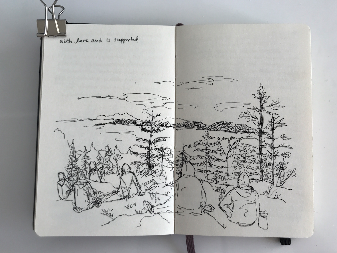 Kayoung Heo sketchbook