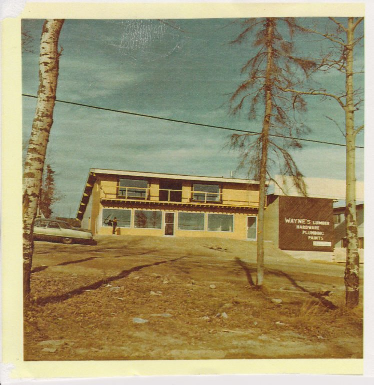 An undated photo, but probably from the 1970s, showing the current home of Robertson Trading Co. in La Ronge, Sask.