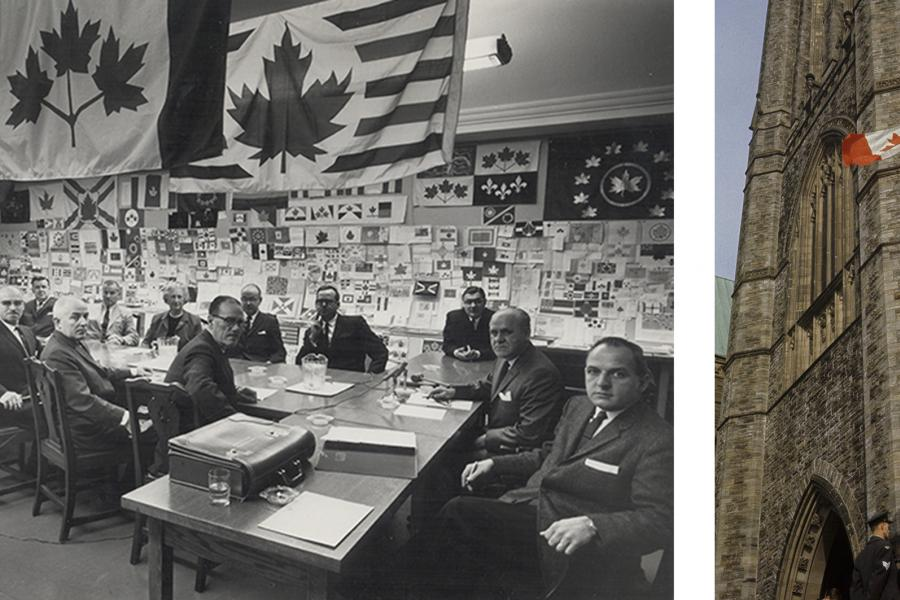 The Flag Committee, Canada, Flag, maple leaf, 1965