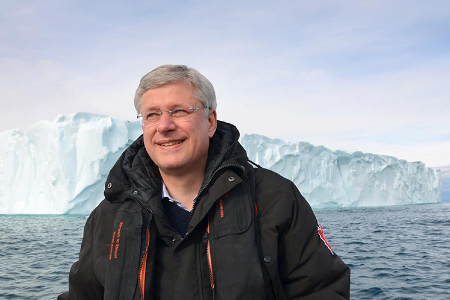 Prime Minister Stephen Harper