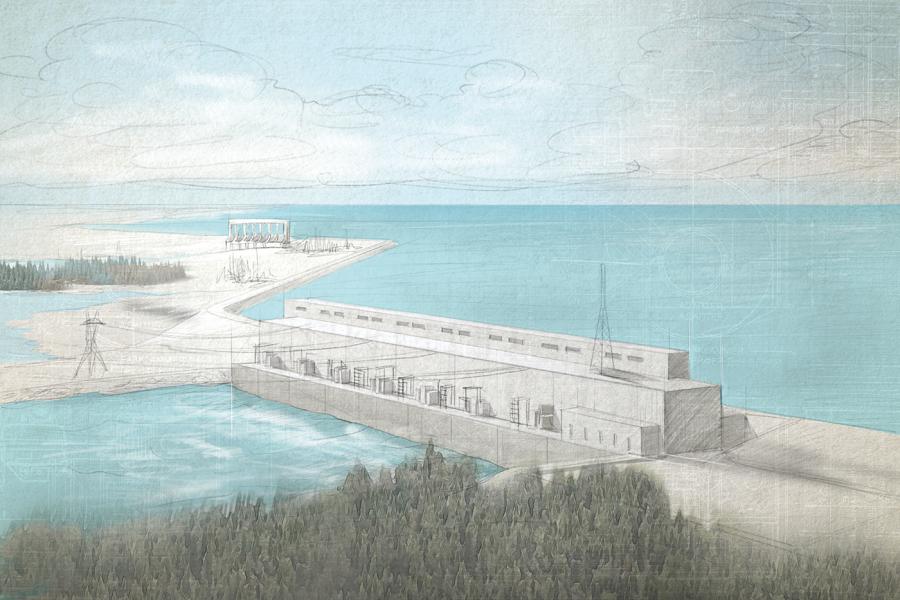 Manitoba — Keeyask generating station