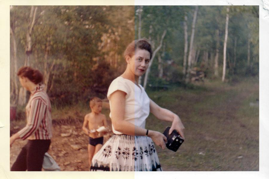 Image of a woman from the 1960s