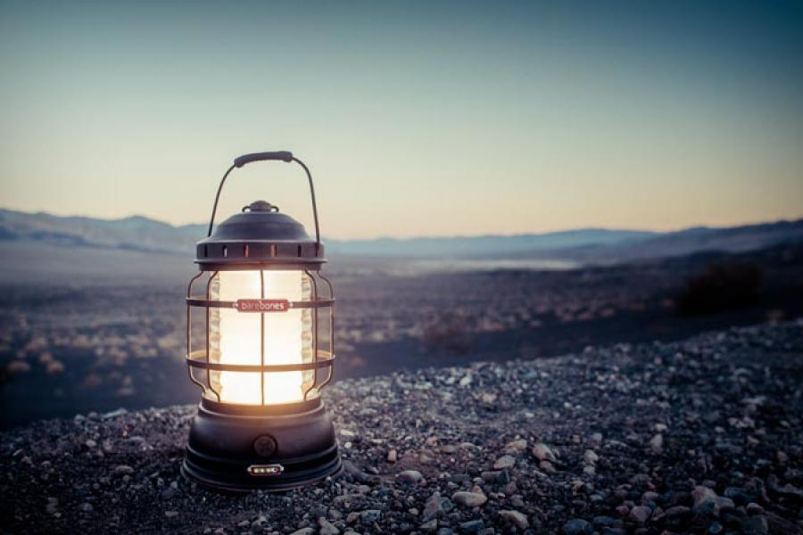 Barebones Forest LED Rechargeable Lantern