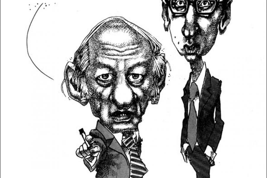 aislin cartoon rene Lévesque