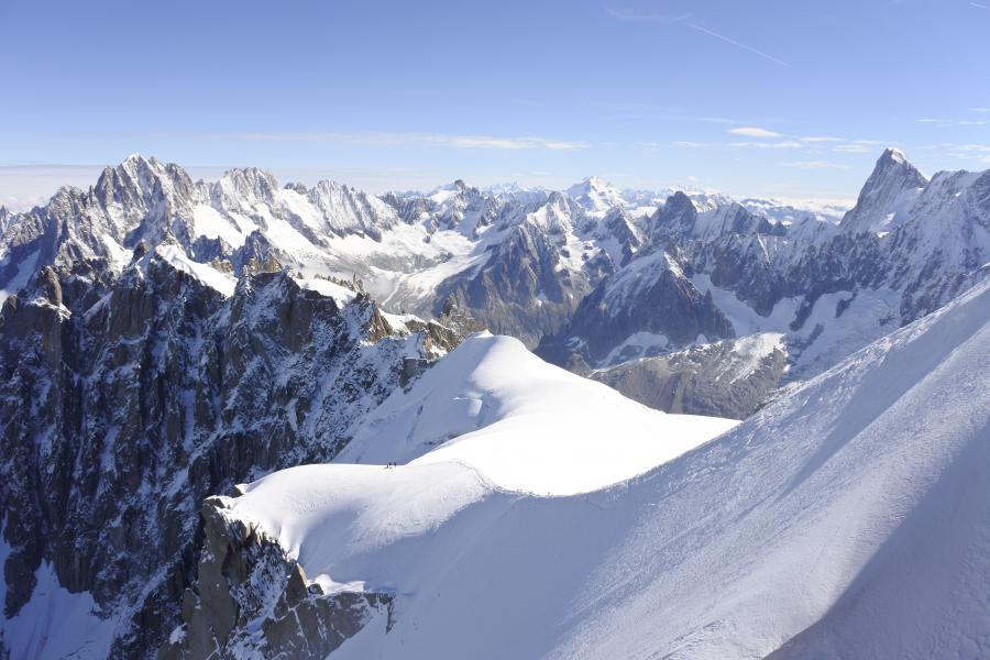 Photo of the Alps in Chamonix, France