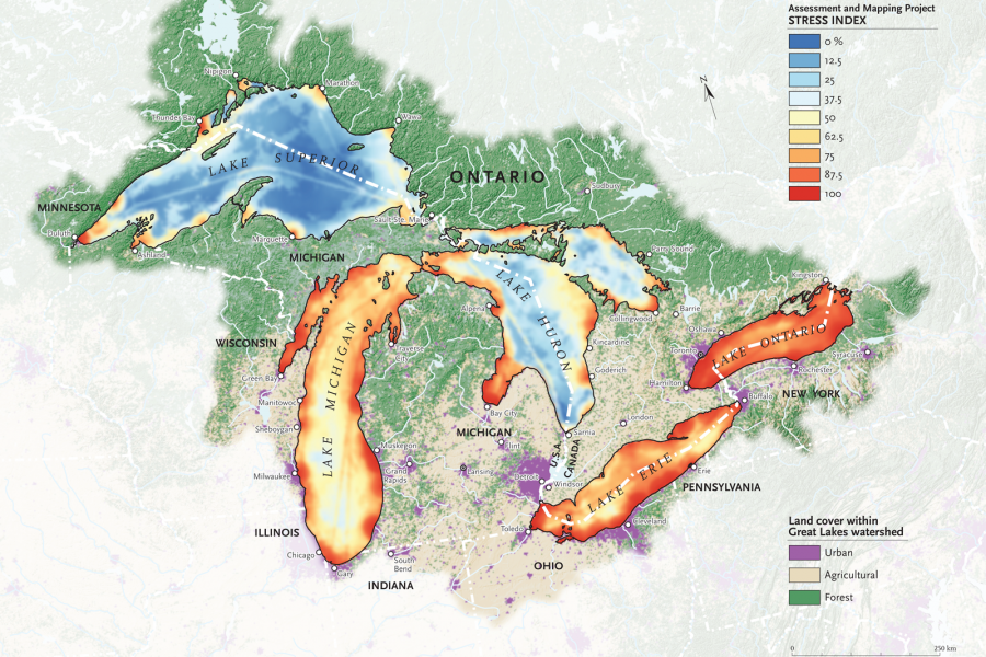 Great Lakes pollution