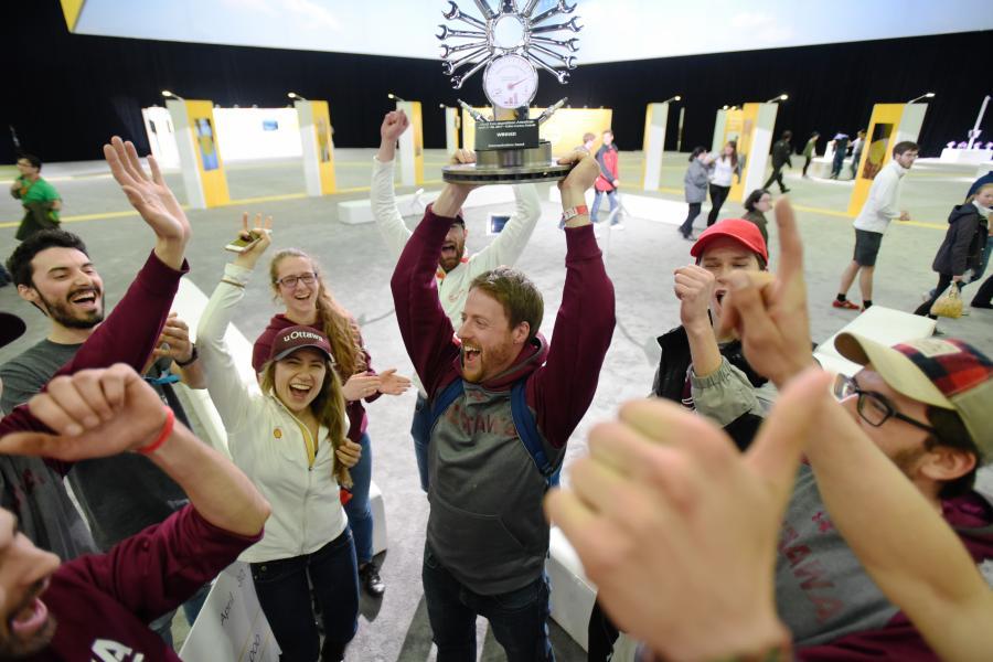 Canadian university students win award at Shell Eco-marathon Americas