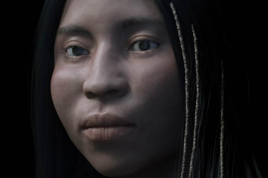 3D forensic facial reconstruction of a high status shíshálh woman