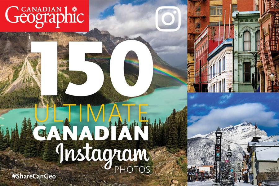 Cover of 150 ultimate canadian instagram photos