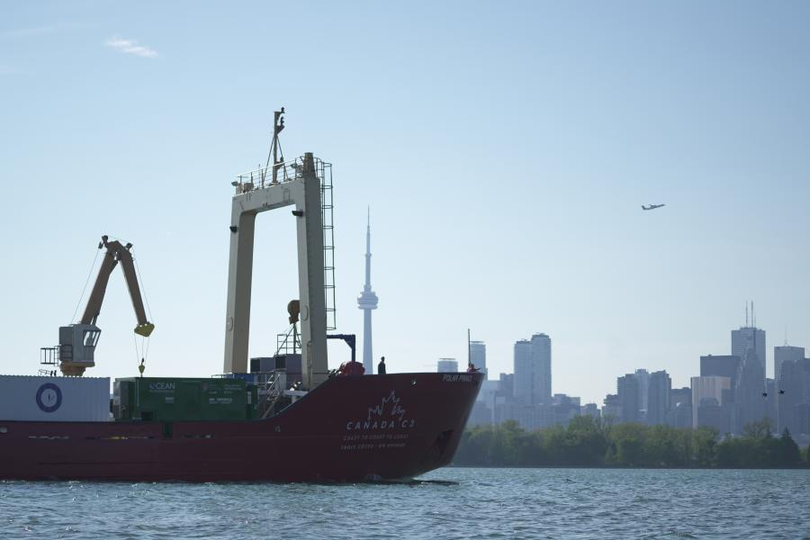 Canada c3 ice breaker in toronto