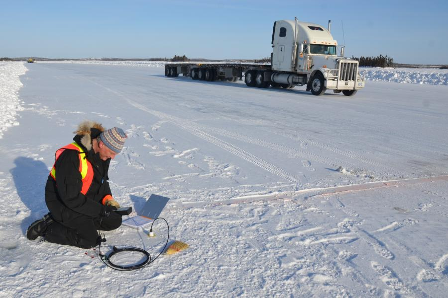 Polar blog, ice road, truckers, North, Arctic, mining, N.W.T, Nunavut