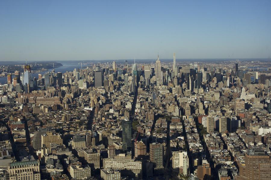 manhattan, new york city, city, skyline, skyscrapers, uptown
